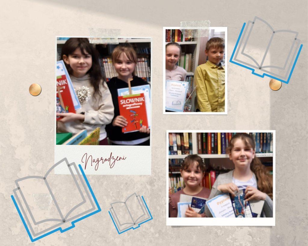 Magiczne podróże po literaturze-konkurs czytelniczy dla klas III