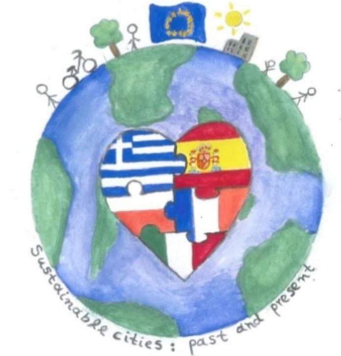 "Głosowanie na logo projektu Erasmus+""Sustainable cities:past and present""."